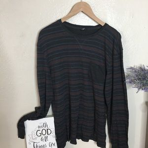 Volcom Thermal Striped Long Sleeve Top